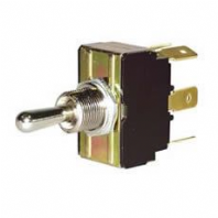 DURITE <BR>  Change Over or On/Off Double-Pole Switch with Metal Lever <br>ALT/0-658-02
